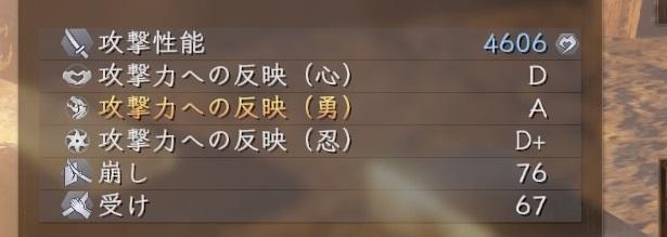仁王2 武器 攻撃反映